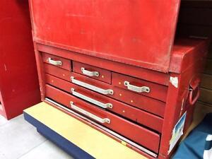 Coffre à outils mécanicien 6 tiroirs + outils vrac #F023724