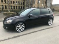 VW GOLF, 2.0 GT TDI, BLACK, SAT NAV, FSH, TOP OF THE RANGE MODEL