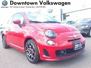 2013 Fiat 500 Sport Turbo Hatch **LOADED**