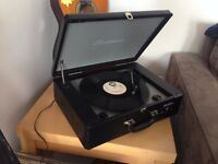 Electrohome Archer - Retro Record Player Turntable System