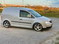 Vw caddy 1.9 pd tdi 6 gear box 180bhp 5 seat camper van Coilover lower suspension