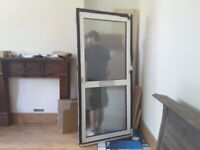 Aluminium double glazed exterior door