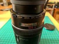 Canon 70-210mm lens