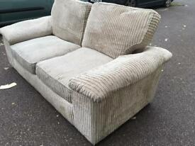 Cream sofa bed free London delivery