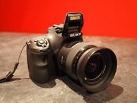 Sony DSLT Alpha A58 and lens Bundle