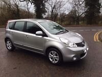 2008 58 Plate Nissan Note 1.4 Acenta 5 door hatchback - FACELIFT -