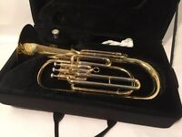 Hanson Tenor Horn together with case & mouthpiece