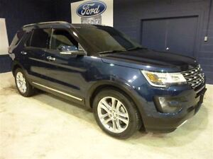 2016 Ford Explorer LIMITED AWD TOIT GPS CPO 1.9% +