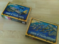 Dystopian Wars, League of Italian States, 1x Naval Battle Group, 1x Naval Support Group