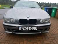 BMW e39 520i 2.2 petrol straight 6