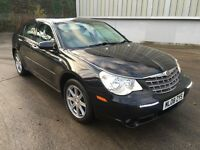 Stunning 2008 08 Chrysler Sebring 2.0Limited 160 4Dr **2 Owners+Only 80000+History+Full Leather**