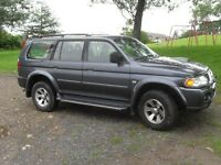 Mitsubishi Shogun sports Diesel Manual