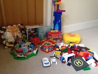 Baby/Toddler Toys Bundle 'Thomas' game, Megabloks, Golf set & more