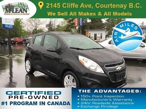 2013 Chevrolet Spark LT Accident Free 1 Owner