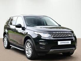 Land Rover Discovery Sport TD4 SE TECH (black) 2017-09-15