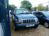 jeep cherokee limited crd 2004 on a 54 plate 2.7 diesel