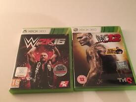 Xbox 360 wrestling games