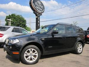 2009 BMW X3 XDRIVE30I ~ ONE OWNER ~ 91KM ~ PANORAMA ROOF AWD