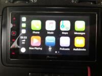 Pioneer SPH-DA120 Apple Car Play / Touch Screen Stereo Double Din Like New