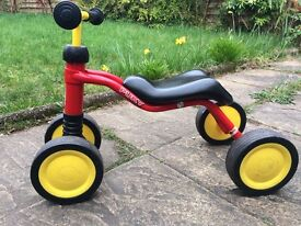 Puky infants/toddler tricycle in good condition