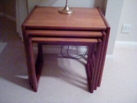 Nest of 3 occasional tables