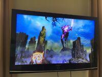 "SAMSUNG PLASMA 50"" HD WALL-MOUNTED TV"