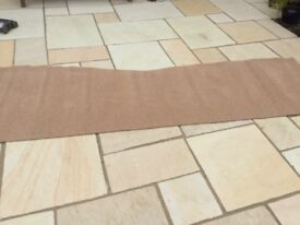 Carpet off cut 315x75cm approx brown