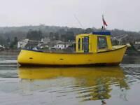 24 ft fishing boat