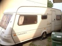 Fleetwood Garland 165 5 Berth Caravan Good Condition