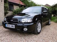Subaru Forester XT, 2.0 Turbo, 2005, Hi-spec, Mint condition.