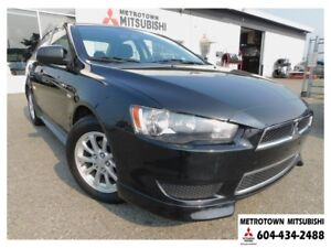 2012 Mitsubishi Lancer SE; Local BC vehicle!