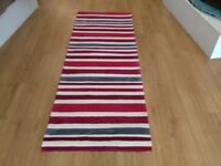 Clearance Rug 80 x 230 cm ( rainbow red )