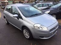 2008/58 FIAT GRANDE PUNTO 1.4 DYNAMIC,5 DOOR,SILVER,2 OWNERS FROM NEW,STUNNING LOOKS+DRIVES WELL