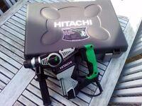Hitachi rotary hammer drill 110 volt