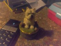 dog orniment can stour small items inside