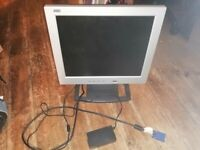 "AOC 17"" computer monitor"