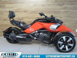 2015 Can-Am Spyder F3-S SE6 BAS MILAGE !!!  64$/SEMAINE