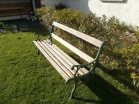 Antique Garden Bench Seat