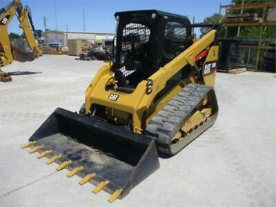 115 Low Hours 2017 Caterpillar 289d Track Skid Steer Loader Cat 289