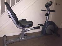 Recumbent bike Can deliver