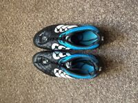 Canterbury Stampede Club 8 Stud Rugby Boots, Mens, Size UK11, Blue/Black, used only once