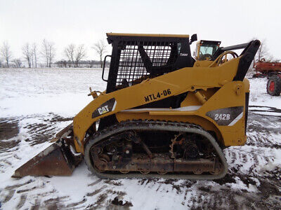 2007 Caterpillar 242b Skid Steer Orops Vts Tracks Pilot Controls