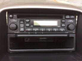Genuine Honda CRV stereo with code. 2003