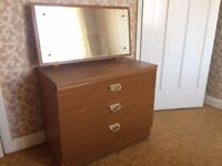 Retro chest of drawers - collection only