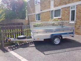 brand new single axle trailer