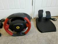 Thrustmaster Ferrari 458 Steering Wheel and Pedals for Xbox 1