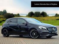 Mercedes-Benz A Class A 200 D AMG LINE PREMIUM PLUS (black) 2016-05-26