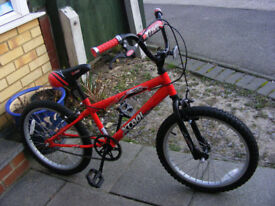 "BOYS 20"" VWHEEL BIKE IN GREAT WORKING CONDITION AGE 7+"