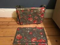Cath kidston baby change changing bag and mat