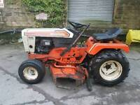 Simplicity ride on mower tractor 16hp with plough